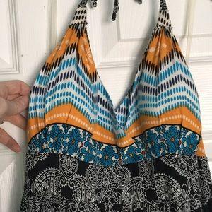 Apt. 9 tribal print maxi dress